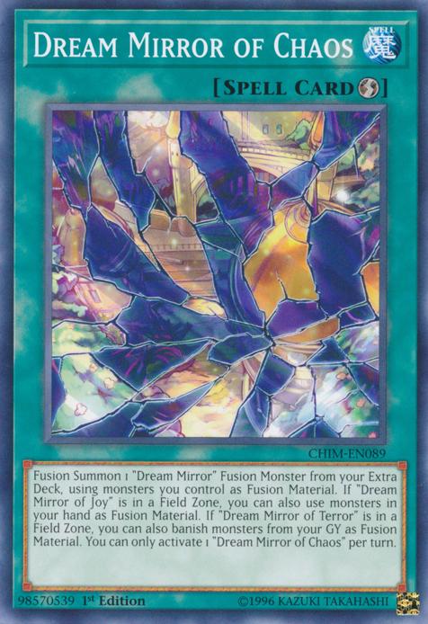 Dream Mirror of Chaos - CHIM-EN089 - Common - 1st Edition