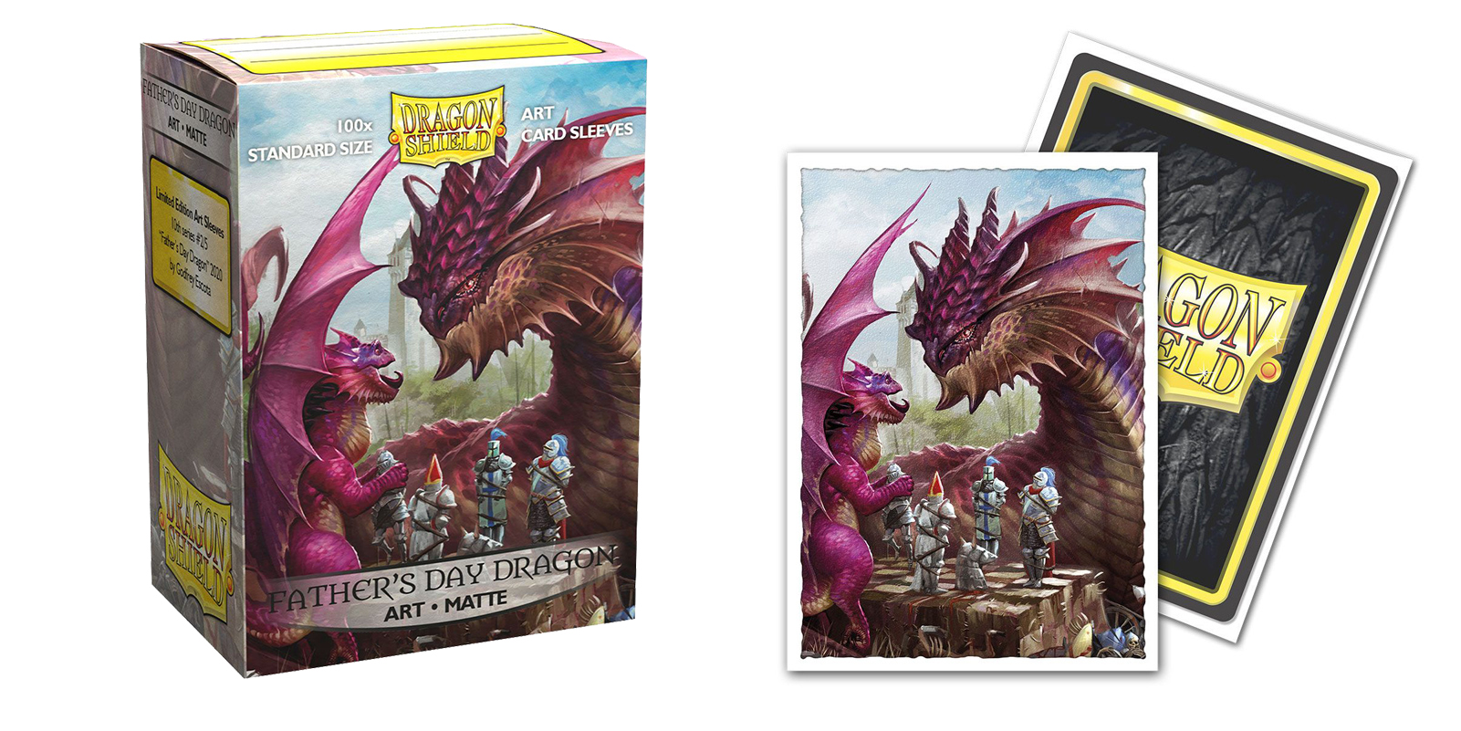 Dragon Shield Sleeves: Fathers Day Matte Art (Box of 100)