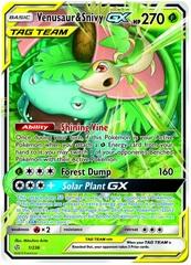 Venusaur & Snivy Tag Team GX - 1/236 - Ultra Rare
