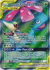 Venusaur & Snivy Tag Team GX - 210/236 - Full Art Ultra Rare