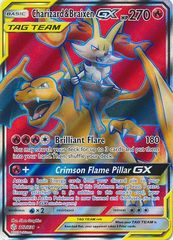Charizard & Braixen Tag Team GX - 212/236 - Full Art Ultra Rare
