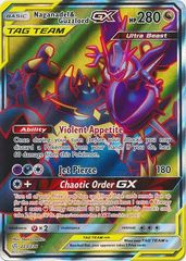 Naganadel & Guzzlord Tag Team GX - 223/236 - Full Art Ultra Rare