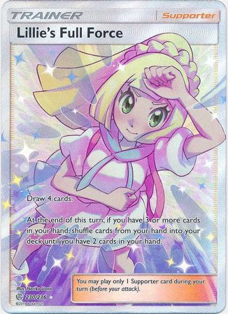 Lillie's Full Force - 230/236 - Full Art