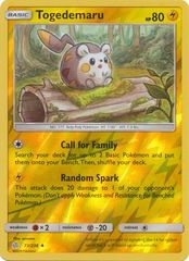 Togedemaru - 73/236 - Uncommon - Reverse Holo