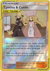 Cynthia & Caitlin - 189/236 - Uncommon - Reverse Holo