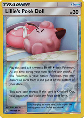 Lillie's Poke Doll - 197/236 - Uncommon - Reverse Holo