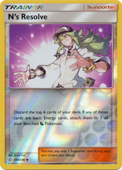 N's Resolve - 200/236 - Uncommon - Reverse Holo