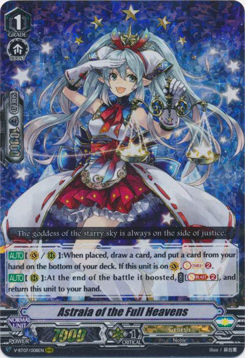 Astraia of the Full Heavens - V-BT07/008EN - RRR
