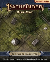 Pathfinder RPG Second Edition: Pathfinder Flip-Mat: The Fall of Plaguestone