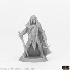 Bones Black: 44072: Dark Elf Male Warrior