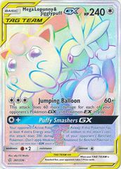 Mega Lopunny & Jigglypuff Tag Team GX - 261/236 - Secret Rare