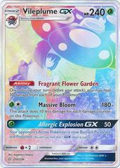 Vileplume GX - 250/236 - Secret Rare