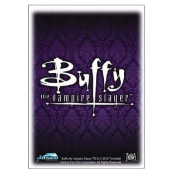 Dragon Shield Sleeves: Classic Art - Buffy the Vampire Slayer - Buffy Crest (Box of 100)