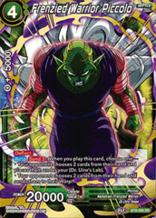Frenzied Warrior Piccolo - BT8-050 - SR