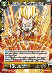 Gotenks, the Unpredictable - BT8-078 - UC - Foil