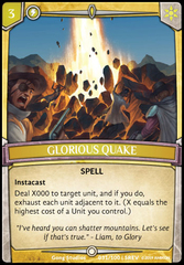 Glorious Quake