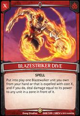 Blazestriker Dive