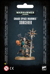 Chaos Space Marines Sorcerer With Plasma Pistol