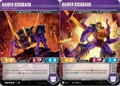 Raider Kickback // Infantry Soldier