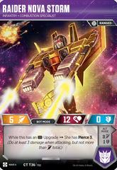 Raider Nova Storm // Infantry Combustion Specialist
