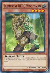 Elemental HERO Woodsman - SDHS-EN003 - Common - Unlimited Edition