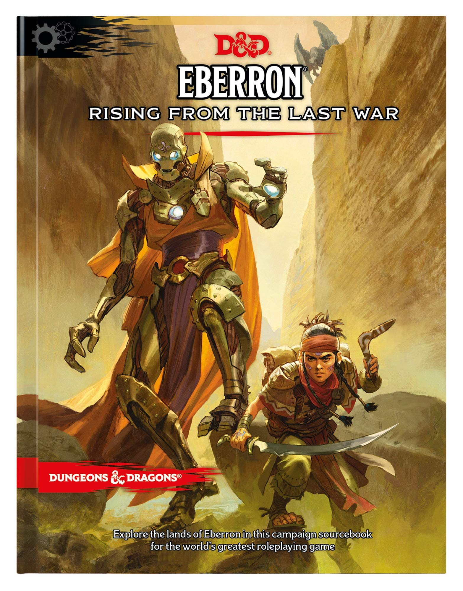 D&D 5th Edition Eberron Rising from the Last War - Hardcover