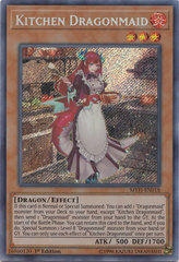 Kitchen Dragonmaid - MYFI-EN018 - Secret Rare - 1st Edition on Channel Fireball