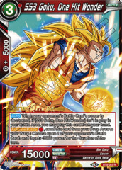 SS3 Goku, One Hit Wonder - BT8-003 - R - Pre-release (Malicious Machinations)