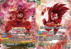 Son Goku // Kaio-Ken Son Goku, Turning the Tide - BT8-044 - C - Pre-release (Malicious Machinations)