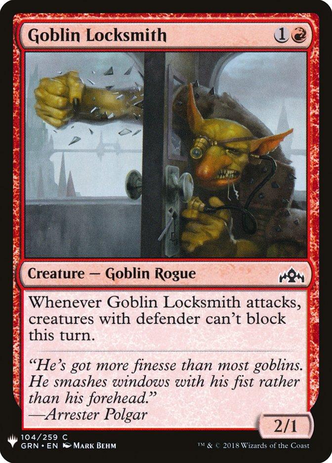 Goblin Locksmith