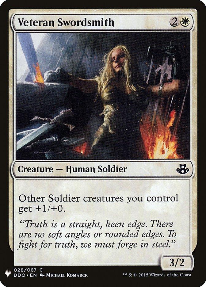 Veteran Swordsmith