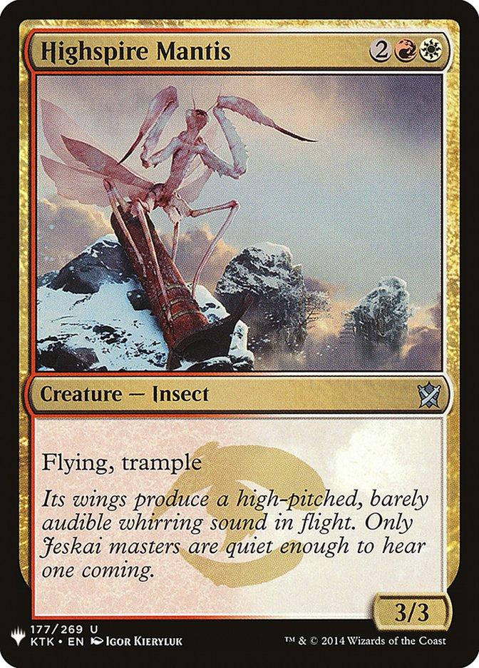 Highspire Mantis