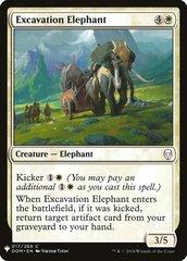 Excavation Elephant