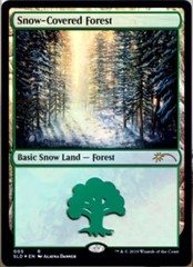 Snow-Covered Forest - Foil