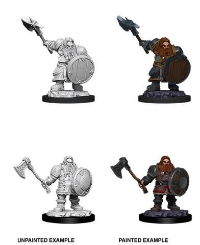 Nolzurs Marvelous Miniatures - Male Dwarf Fighter