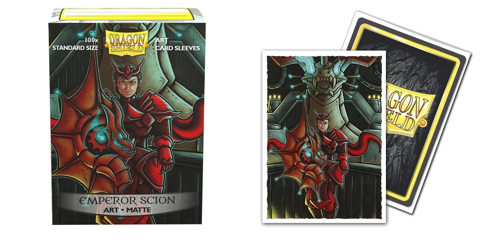Dragon Shield Sleeves: Emperor Scion Portrait Matte Art (Box of 100)