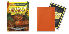 Dragon Shield - Matte Tangerine 100 Count Standard Sleeves