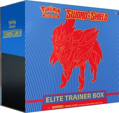 Sword & Shield Base Set - Elite Trainer Box Zamazenta