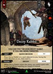 Decoy Rabbit