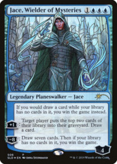 Jace, Wielder of Mysteries - Foil - Stained Glass