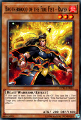 Brotherhood of the Fire Fist - Raven - OP12-EN014 - Common - Unlimited Edition on Channel Fireball