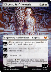 Elspeth, Sun's Nemesis (Borderless) - Foil