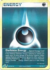Darkness Energy - 93/109 - Rare - Reverse Holo