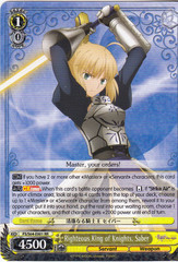 FS/S64-E001 RR Righteous King of Knights, Saber