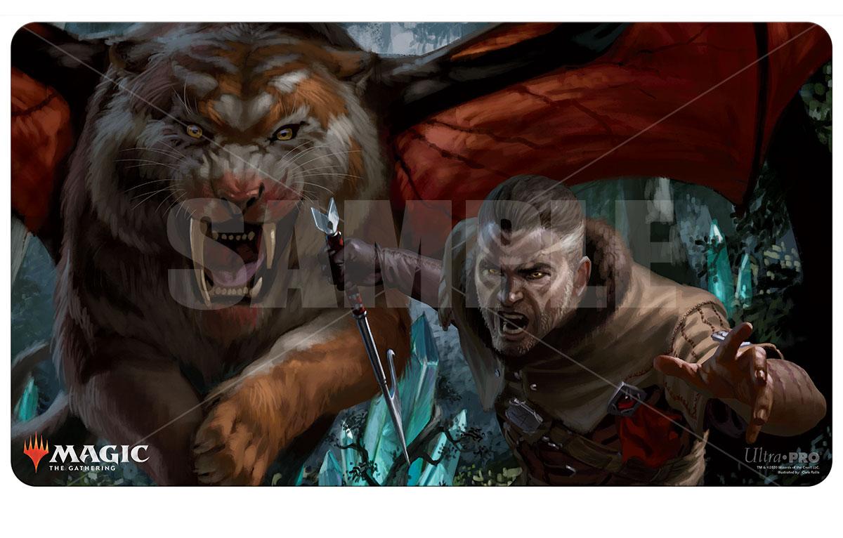 Ultra Pro - Ikoria: Lair of Behemoths - Go For Blood Playmat