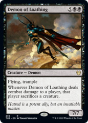 Demon of Loathing - Theme Booster Exclusive