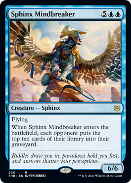 Sphinx Mindbreaker - Theme Booster Exclusive