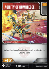 Agility of Bumblebee (Energon Edition)