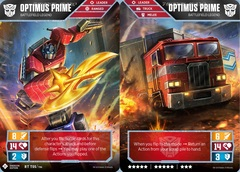 Optimus Prime // Battlefield Legend (Energon Edition)