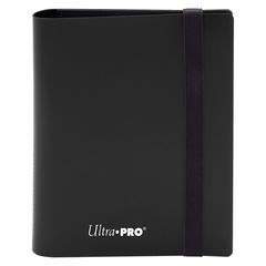 Ultra Pro - 2-Pocket Eclipse Jet Black PRO-Binder